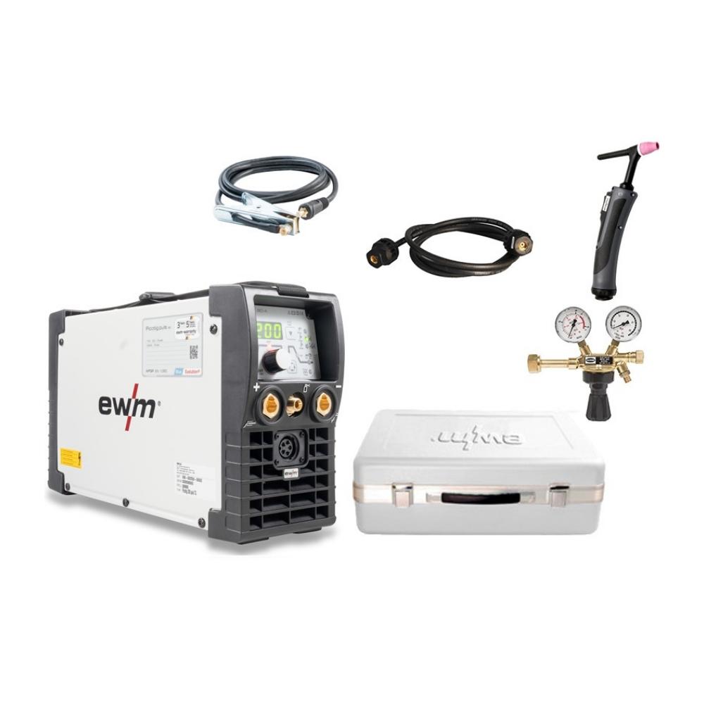 Сварочный аппарат EWM Picotig 200 puls 5P D (SET)