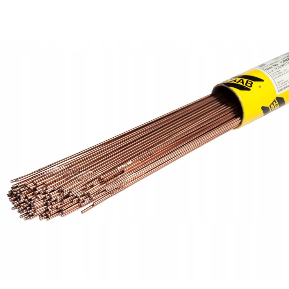 Пруток присадочный Esab OK Tigrod 12.64 Ø2,4 х 1000 мм (5 кг)