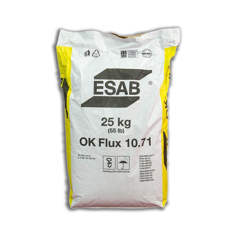 Флюс сварочный Esab OK Flux 10.71 (25 кг)