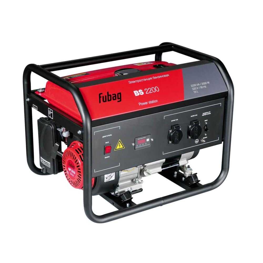 Генератор бензиновый Fubag BS 2200