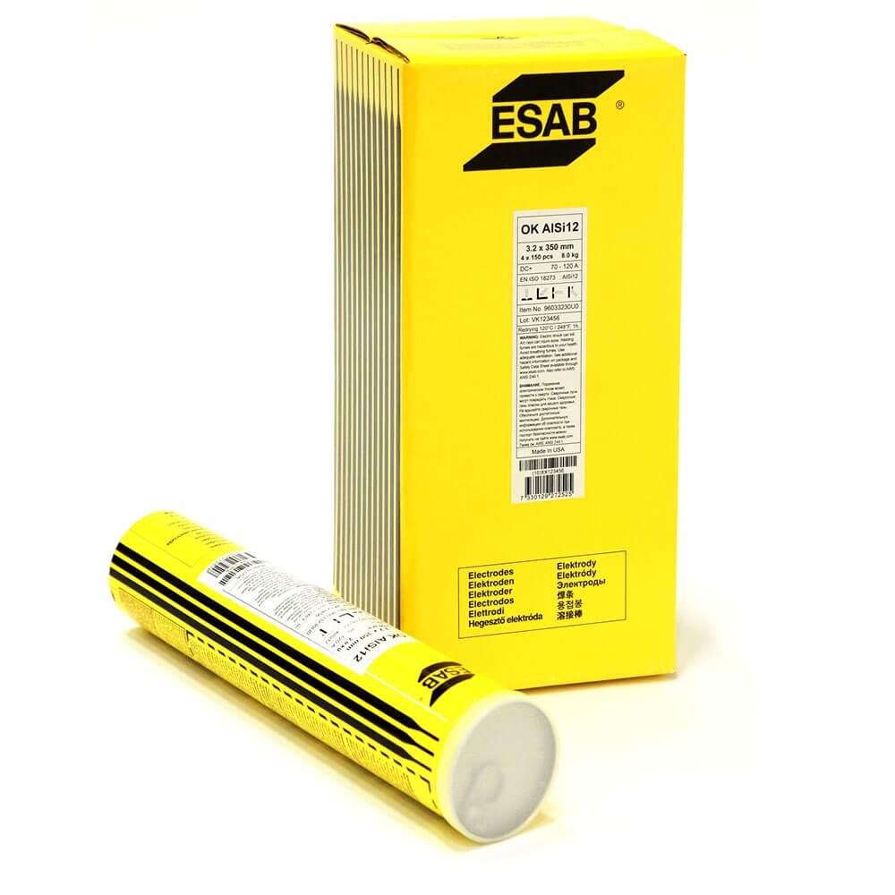 Электроды Esab OK AlSi12 (96.50) Ø2,4 (2,0 кг)