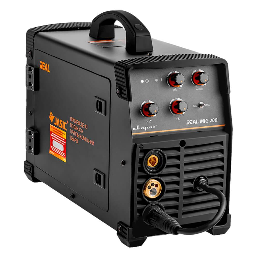 Сварочный аппарат Сварог Real Mig 200 Black (маска+краги)